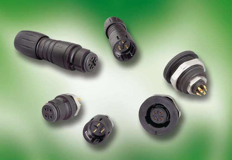 Series 620 - Plastic Snap-in Connectors, IP 67