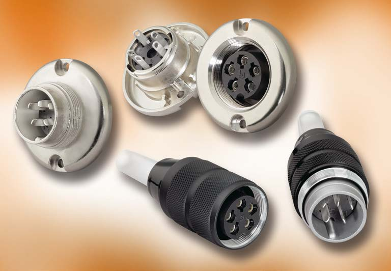 Series 691 M25 Connectors, IP 40