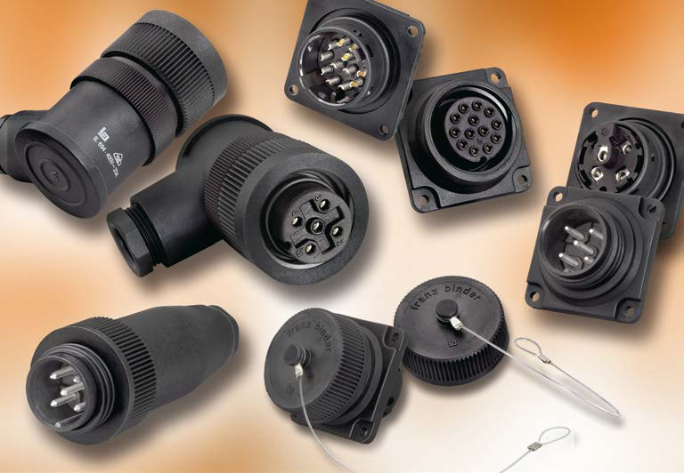 Series 694 Plastic Connectors with RD 30 Locking, IP 65