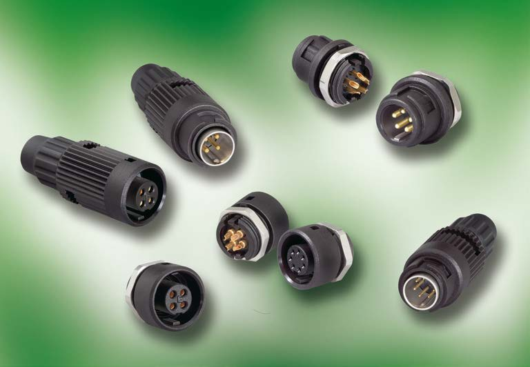 Series 710 Plastic Bayonet Connectors, IP 40