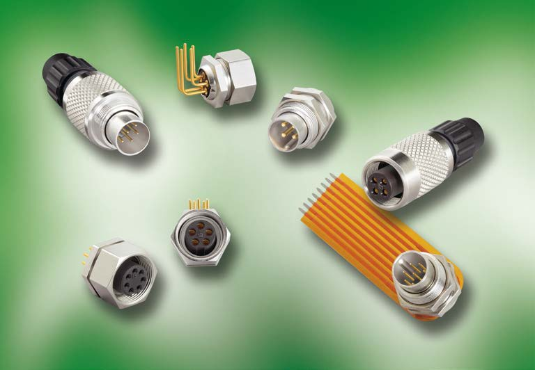 Series 711 M9 Connectors, IP 40