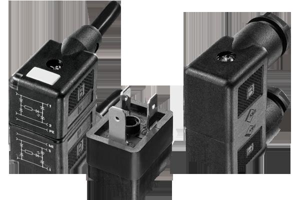 Solenoid Valve Size B Connectors