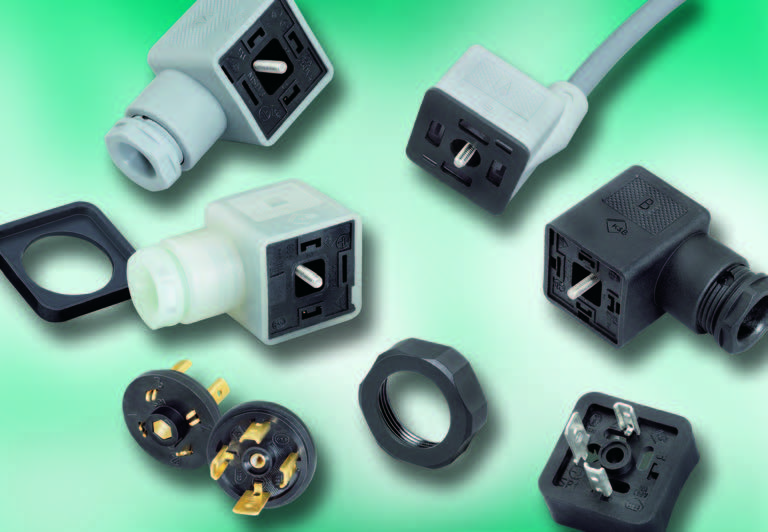 Series M-A Solenoid Valve Connectors, Style A, IP 67