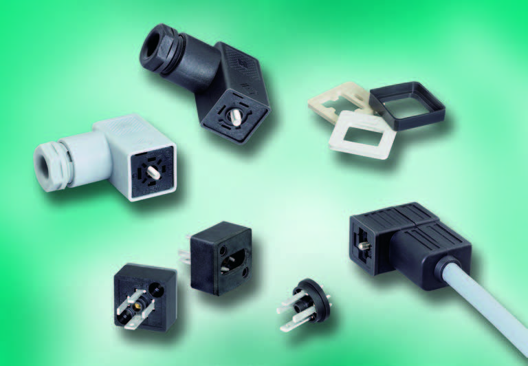 Series M-C Solenoid Valve Connectors, Style C, IP 67